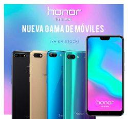 nueva gama de móviles honor