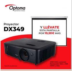 Promo PROYECTOR OPTOMA DX349 DLP 3000LUM XGA 3D HDMI-VGA