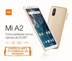 """TELEFONO MOVIL XIAOMI MI A2 ORO 5.99""""-OC2.2-4GB-64GB"""