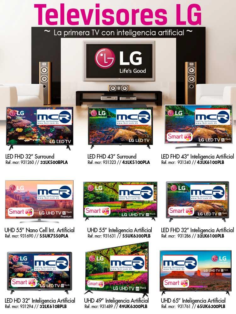 LG ofertas y descuentos televisores LG