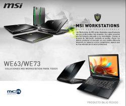 descuentos en workstations MSI