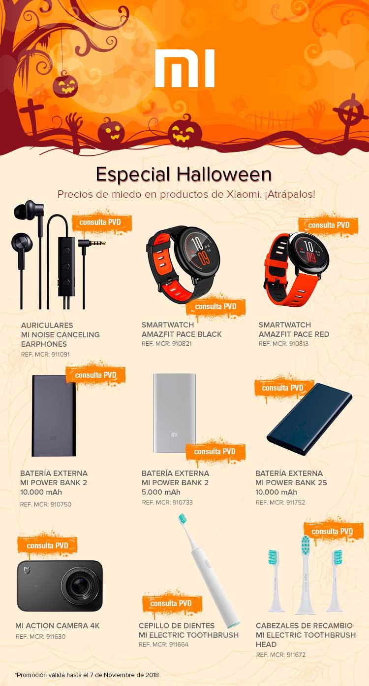 especial Halloween en MCR