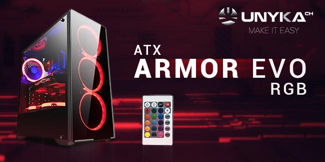 caja ordenador armor evo