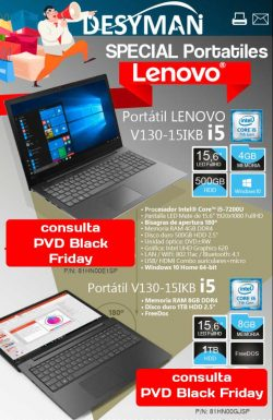 especial portatiles Lenovo