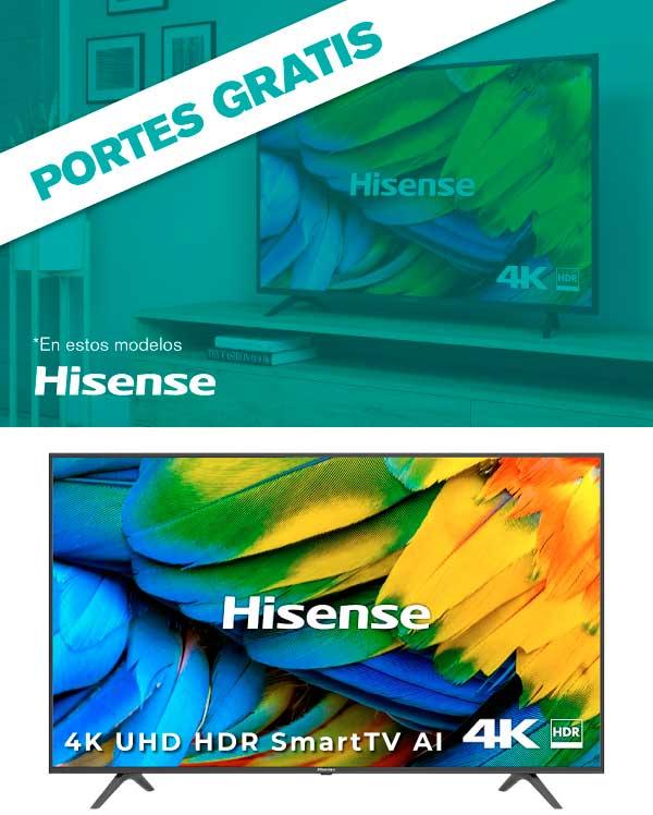 mejor precio en TV Qled Hisense