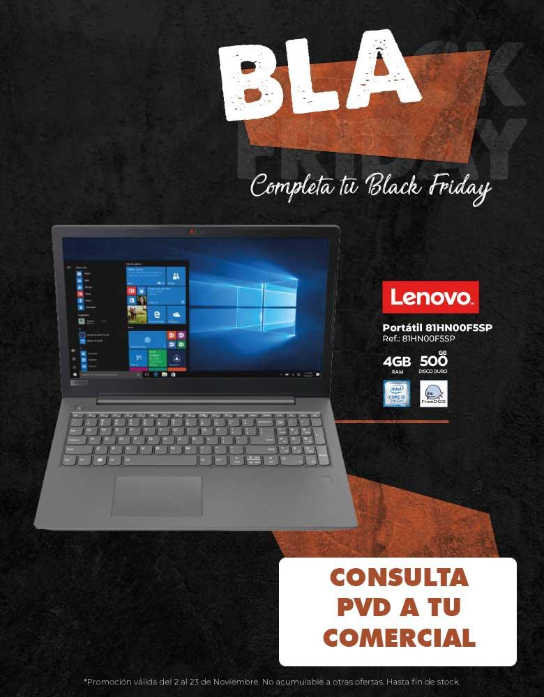 oferta, descuento, black friday Lenovo