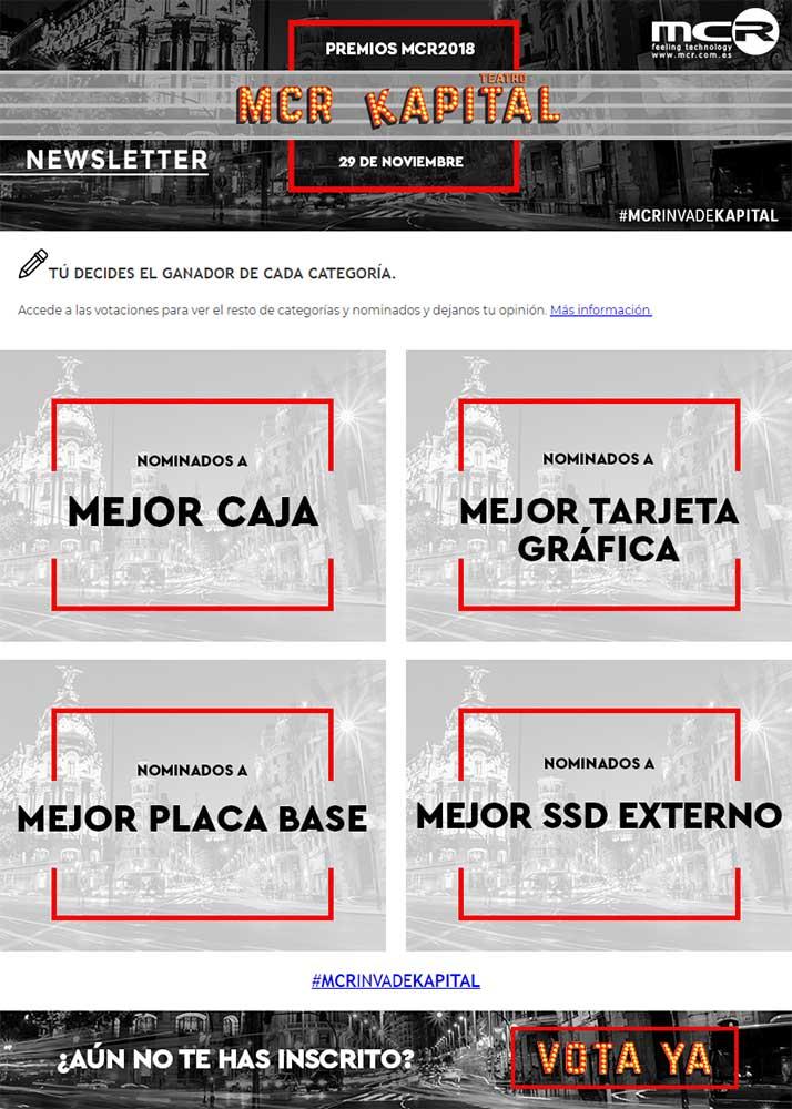 Premios MCR en Kapital