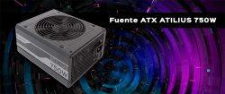 FUENTE DE ALIMENTACIÓN ATILIUS 750W Full Modular