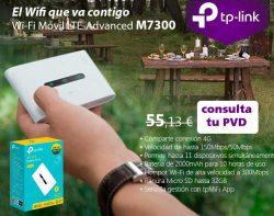 oferta en wifi M7300 tp-link