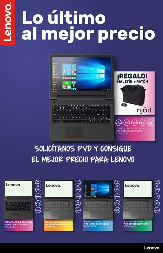 ofertas, novedades, descuentos en portatiles Lenovo