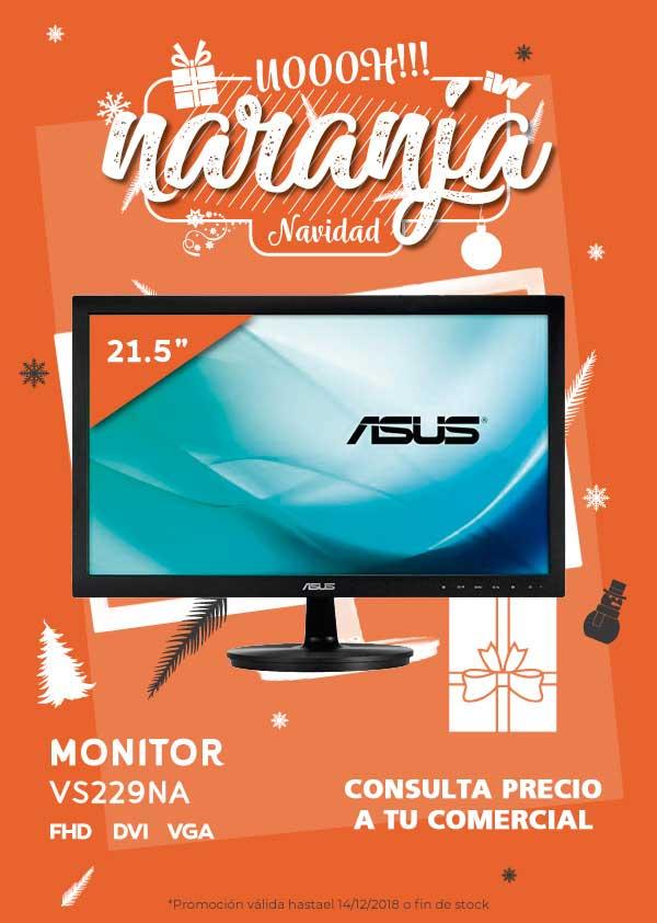 """oferta MONITOR 21.5"""" ASUS VS229NA FHD DVI-VGA"""