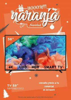"oferta navidad tv philips 58"""