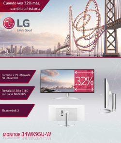 descuento Monitor Ultrawide 34WK95U-W