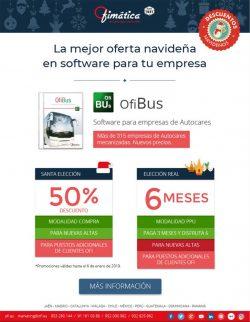 promocion de Ofibus para empresas de autocares