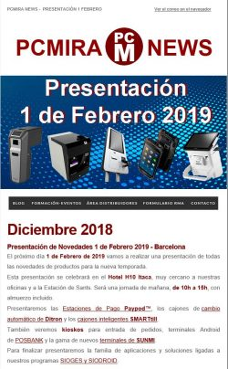 PCMIRA News diciembre 2018