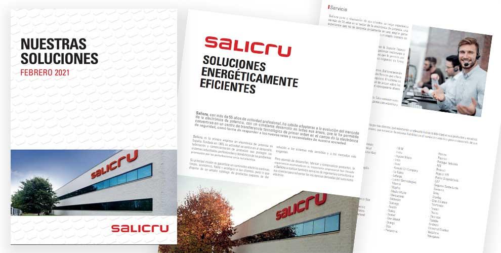 Catálogo soluciones Salicru 2021