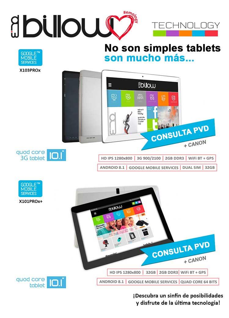 ofertas, novedades, descuentos en tablets