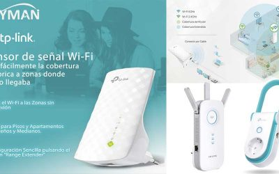 tp-link extensor de señal wi-fi