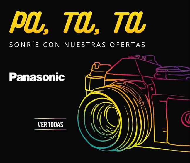 ofertas cámaras digitalers Panasonic