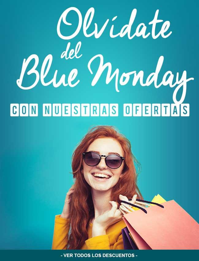 descuentos Blue Monday en Megasur
