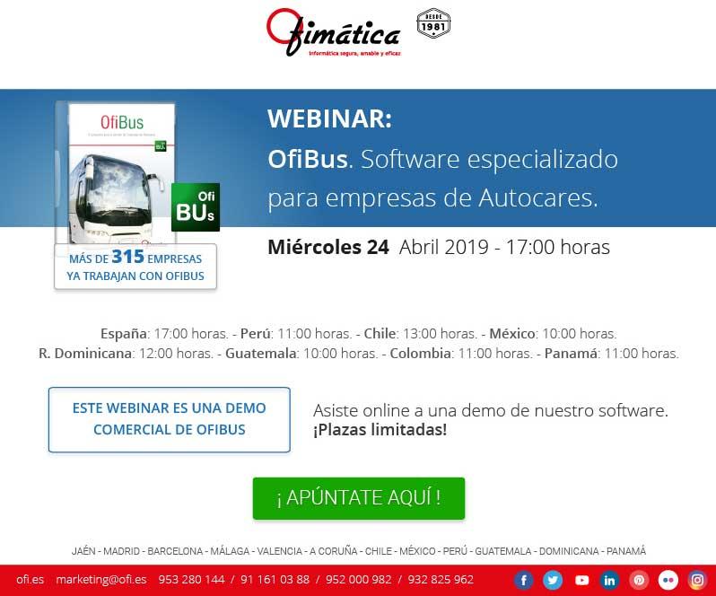 software especializado para empresas de autocares
