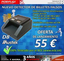 ofertas detector de billetes falsos