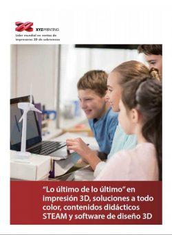 catalogo impresoras XYZ Printing