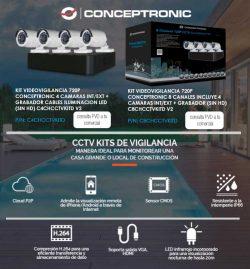 kits de videovigilancia conceptronic