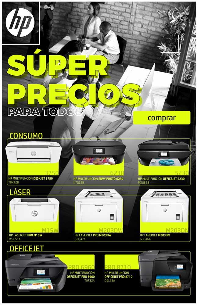ofertas, novedades, descuentos impresoras hp