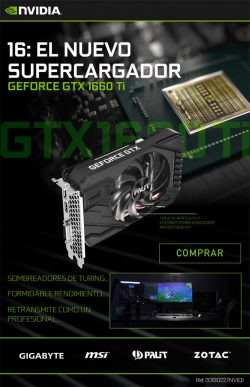 comprar Geforce GTX 1660 Ti