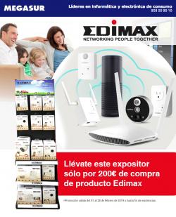 ofertas, novedades, promociones Edimax