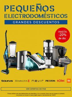 ofertas y descuentos en pequeños electrodomesticos