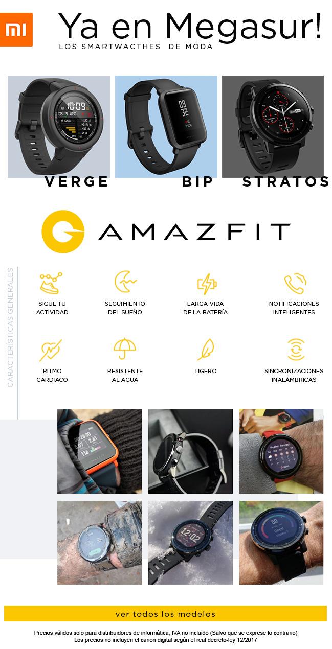 precio smartwatches xiaomi