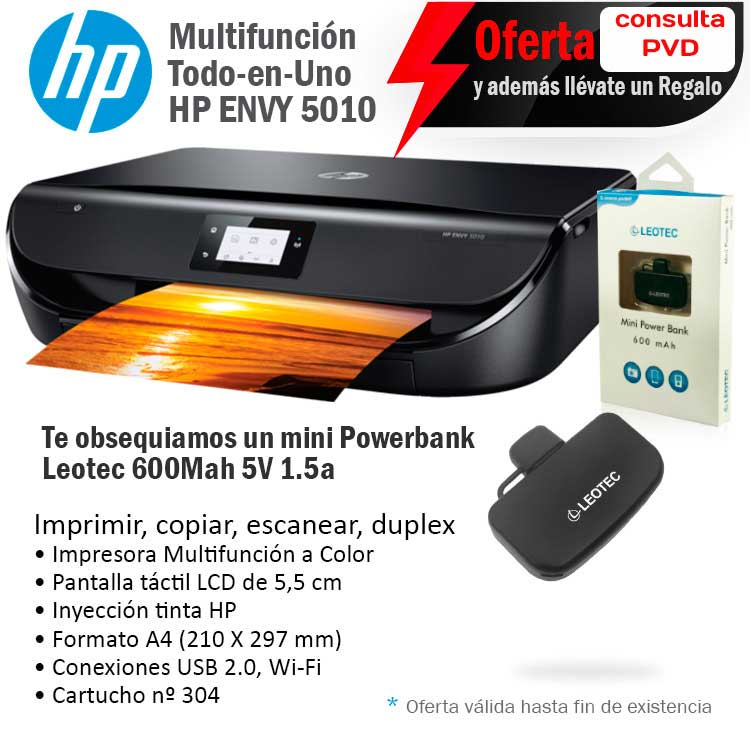 oferta impresora multifuncion hp