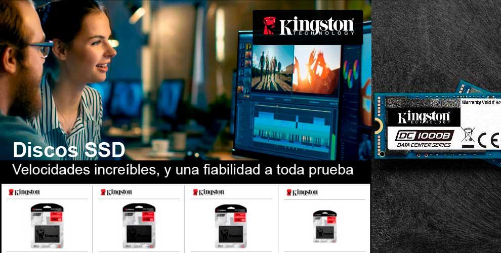 Kingston SSD, velocidades y fiabilidad a toda prueba