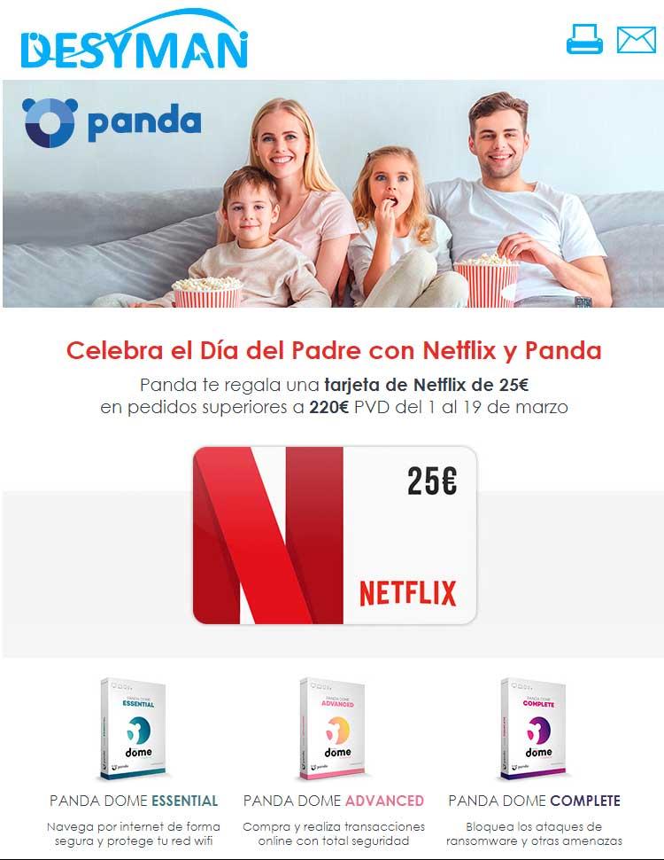 promo Panda dia del padre