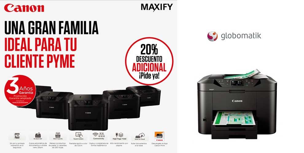 mejor precio en impresoras Canon