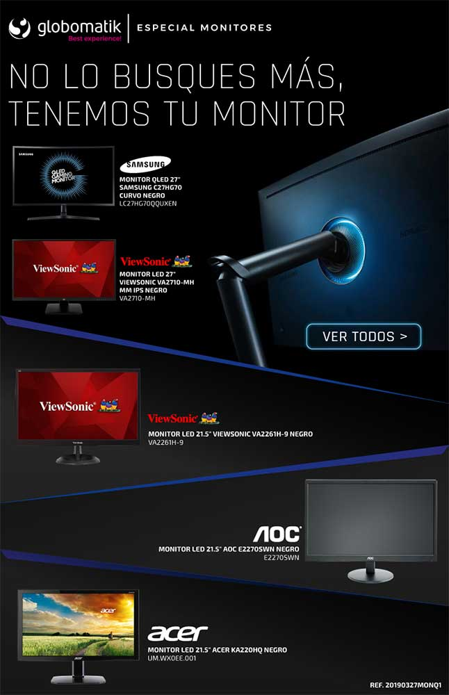 monitores baratos