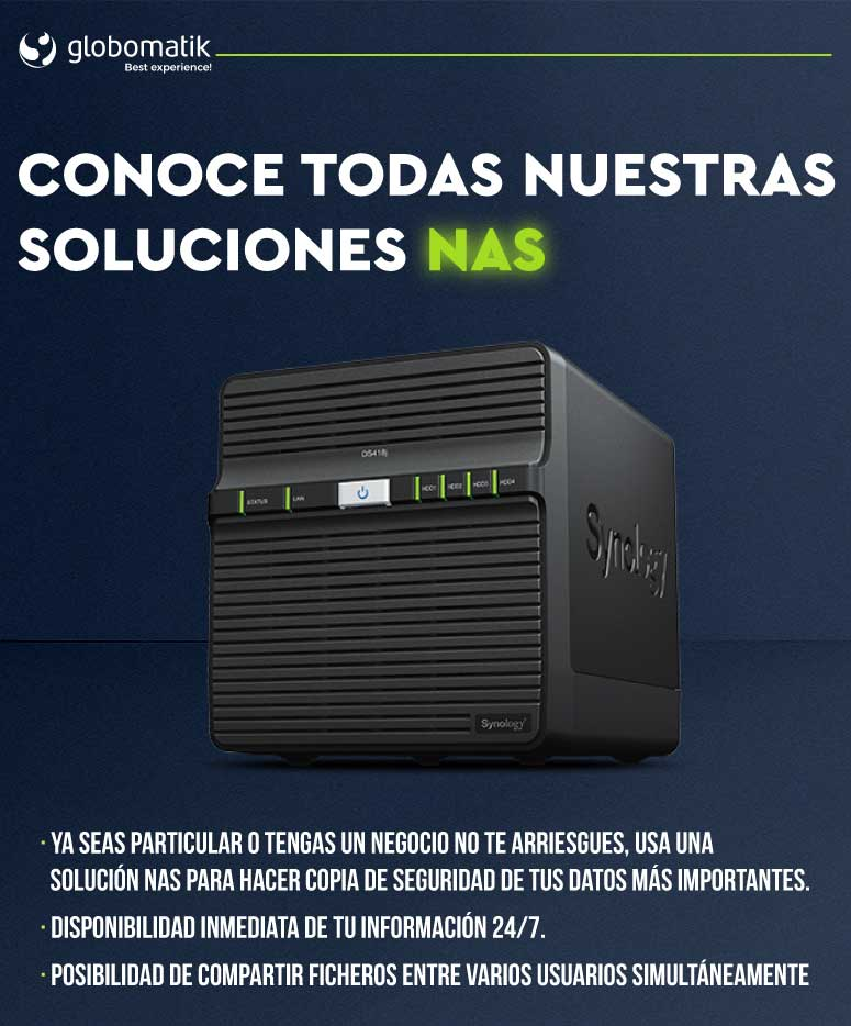soluciones NAS en Globomatik