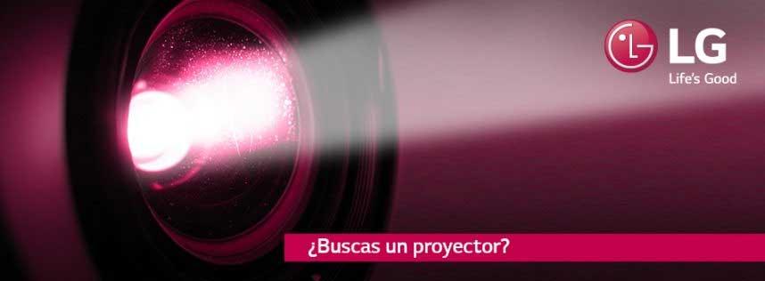 oferta y descuentos en proyectores LG