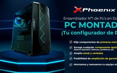 PC Phoenix montado en Megasur