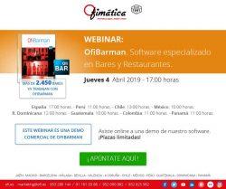 webinar ofimatica con Ofibarman