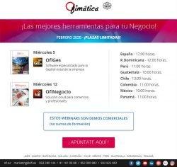 Apúntate a los mejores Webinars comerciales