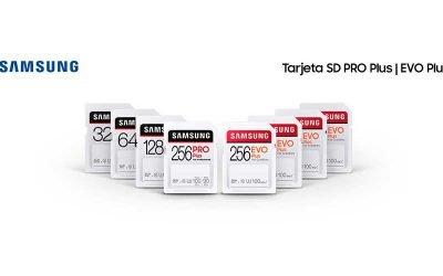 Samsung presenta las tarjetas SD PRO Plus y EVO Plus