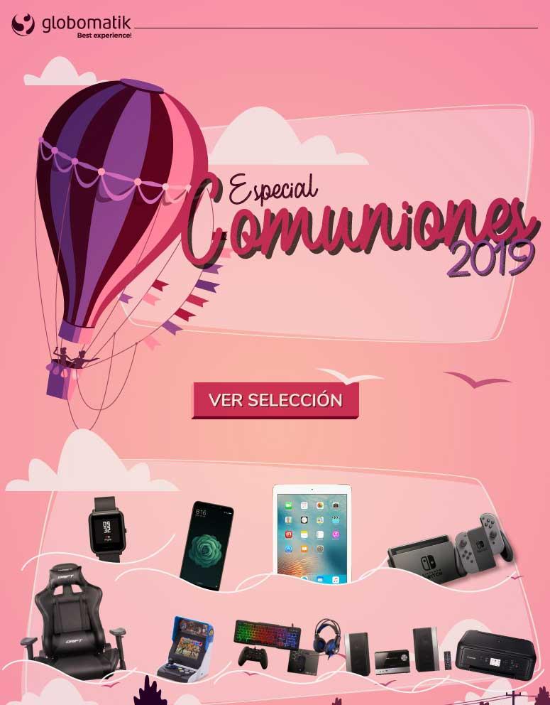 Especial COmuniones 2019 en Globomatik