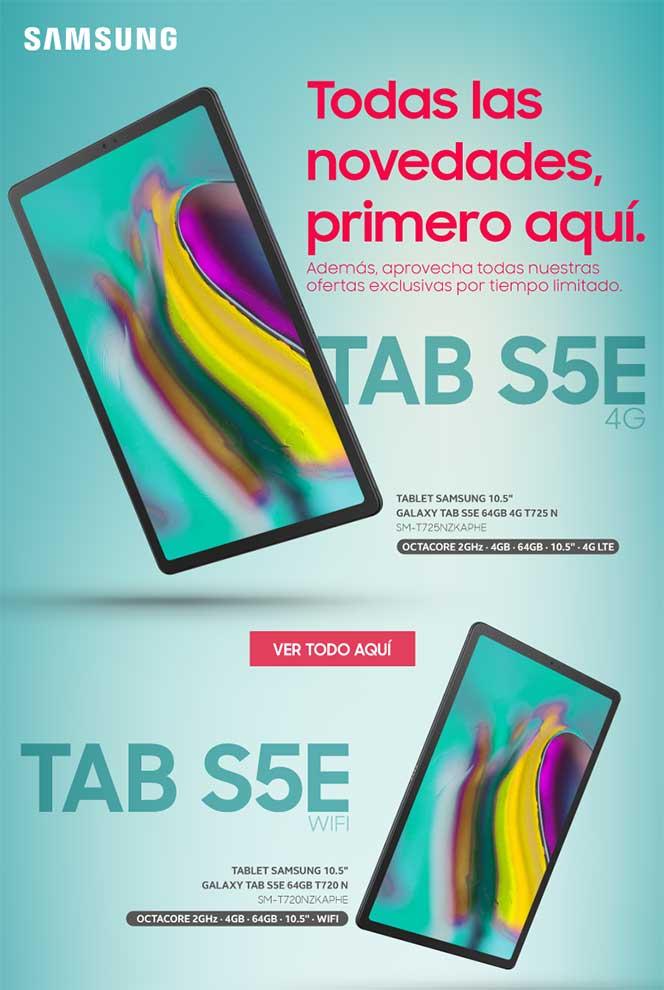 comprar samsung tab S5e