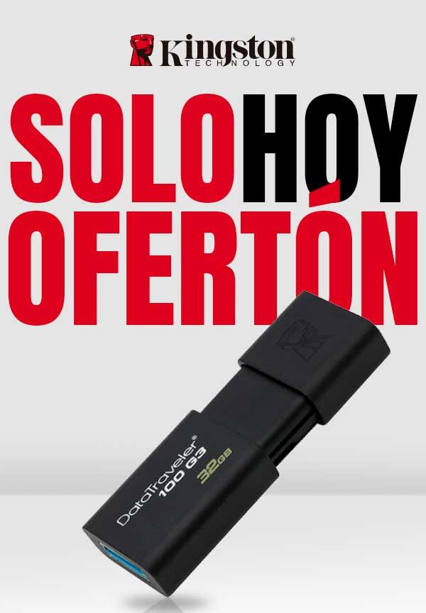 PEN DRIVE 32GB KINGSTON DATATRAVELER 100 G3 USB3.0