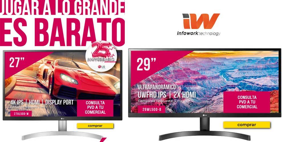 mejores precios monitor gaming LG