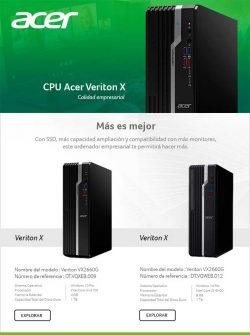 mayoristas informatica Acer