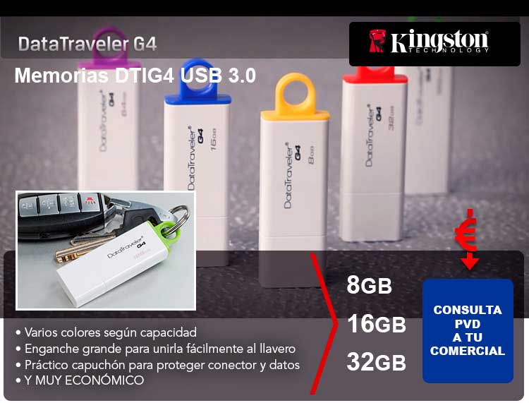 oferta kingston datatraveller G4
